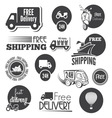 free shipping2 resize vector image vector image