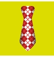 tie isolated design vector image vector image