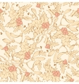 Vintage Mistletoe Holly Berries Seamless vector image vector image