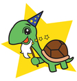 Wizard Turtle vector image