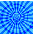 Abstract Burst Ray Background Blue vector image vector image