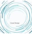 abstract circle design vector image vector image