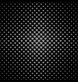 abstract halftone heart pattern background vector image vector image