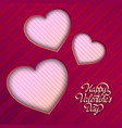 amorous festive template vector image vector image