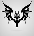 Bat Tattoo vector image vector image