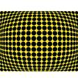 dot bulge vector image vector image