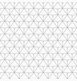 pattern of connecting triangles vector image vector image