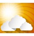 Sun icon design vector image
