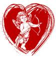 angel little bacupid shoots a bow