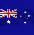 australian flag australia national identity vector image vector image