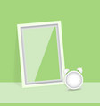 blank photo frame quality poster vector image