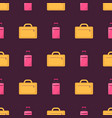 business travelling luggage vector image vector image