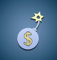 Currency sign dollar vector image vector image