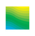 green gradient background icon design template vector image