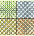 recycling garbage seamless pattern trash vector image