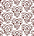 seamless Islamic pattern vector image