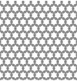 seamless pattern black ornamental background vector image