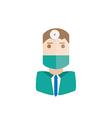 surgeon avatar vector image