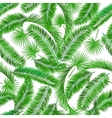 tropical palm tree seamless pattern vector image vector image