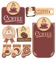 Various of coffee label vector | Price: 1 Credit (USD $1)