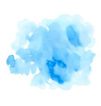 blue watercolor texture vector image vector image