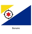 Flag of the country bonaire vector image