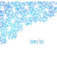 hand drawn pattern background vector image vector image