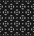 modern black funky style minimalist pattern vector image vector image