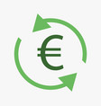 money convert icon vector image
