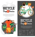 Mountain Biking Vertical Banners vector image