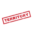 Territory Rubber Stamp vector image vector image