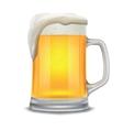 beer glass mug vector image