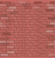 brick wall pattern vector image