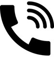 call volume vector image vector image