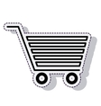 cart shopping isolated icon vector image