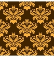 Damask style seamless pattern vector image