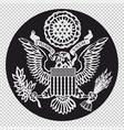 emblem united states vector image vector image