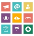 Icons for Web Design and Mobile Applications vector image vector image