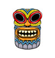 mask inspiration from tiki island and the vector image