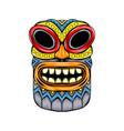 mask inspiration from tiki island vector image
