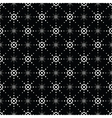 Seamless pattern of symbolic stars 2 vector image vector image
