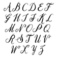 alphabet letters uppercase alphabet vector image