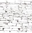 design element Ancient brick wall texture vector image vector image