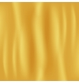 Golden Fabric Background vector image vector image
