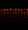 gradient orange technology horizontal background vector image