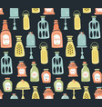 jars pattern vector image