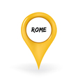 Location Rome vector image