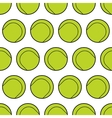 Seamless pattern with tennis balls Background vector image vector image