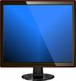 TV screen vector image vector image