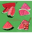Watermelon 06 A vector image